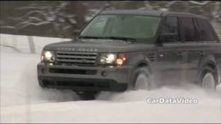 Land Rovers In The Deep Snow