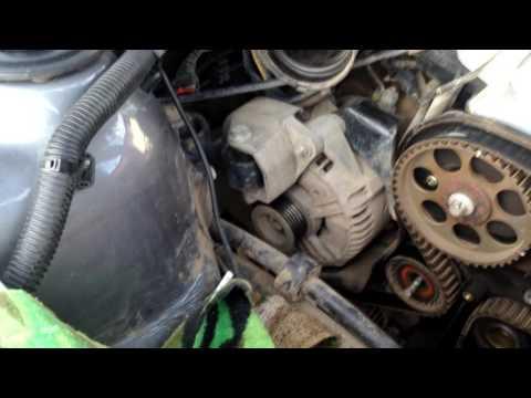 Замена ремня ГРМ Opel Vectra B 2001