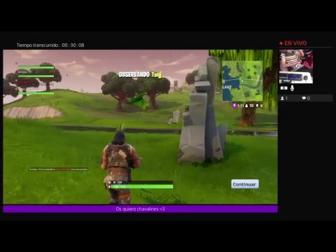 Jugando Con Mouse Y Teclado En Ps4 Fortnite Battle Royale Youtube