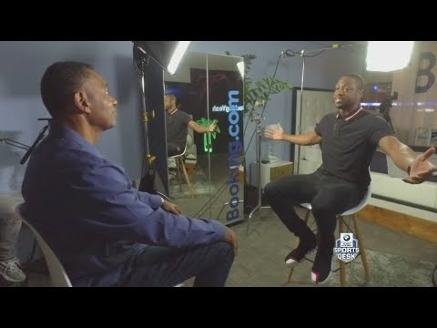The Sports Desk: One-On-One Interview With Miami Heat Star Dwyane Wade