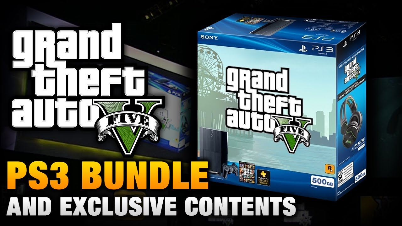 Gta 5 Playstation 3 : Gta playstation exclusive bundle headsets and