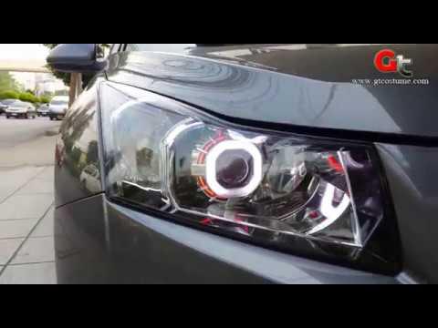 แต่งรถ Cruze 2013 Projector แต่งไฟ Projector Xenon Tel. 095-669966-8 // 096-550-5504