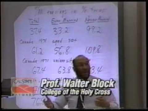 The Economics and Ethics of Discrimination | Walter Block