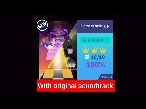 Rolling Sky SeaWorld & 1 Up ( Reskinned / With Original Soundtrack )