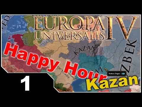 Happy Hour: EU4 The Cossacks - Kazan EP1