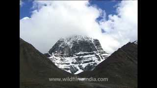 Mount Kailash  - mecca for pilgrims from India, Nepal and Tibet