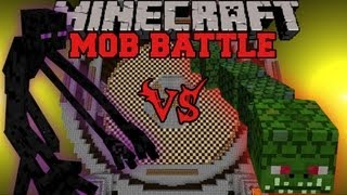 Mutant Enderman Vs Naga - Minecraft Mob Battles - Twilight Forest and Mutant Creatures Mod