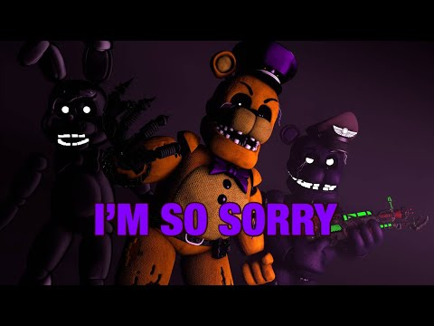 Golden freddy - I'm so sorry (Sfm Fnaf the special strike) song by imagine dragons Amv
