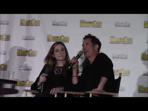 Megacon 2017  Danielle Panabaker and Tom Cavanagh Panel