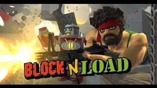 block n Load - обзор (minecraft  командный шутер)