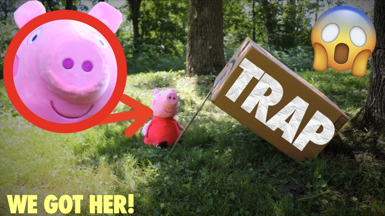 I CAPTURED PEPPA PIG IN REAL LIFE