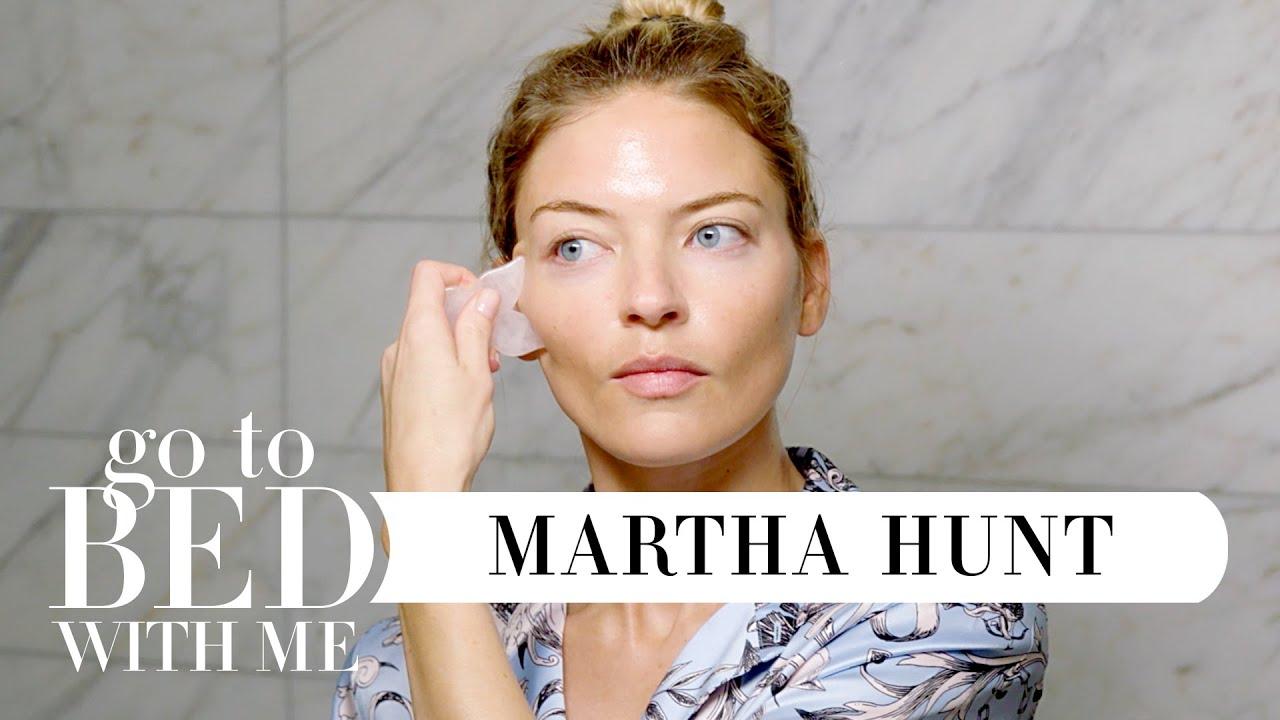 Model Martha Hunt's Nighttime Skincare Routine