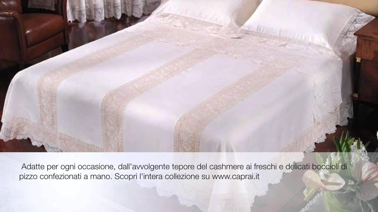 Collezione coperte per il letto Arnaldo Caprai  YouTube
