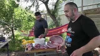 Как мы целую барашку съели. Моя Армянская большая семья! Парное мясо. Свежая баранина.