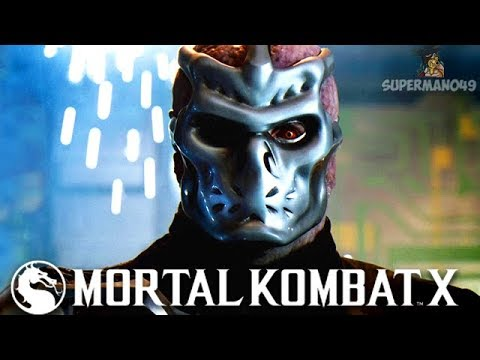 """THE BEST WAY TO END A MATCH WITH JASON VOORHEES! - Mortal Kombat X: """"Jason Voorhees"""" Gameplay thumbnail"""