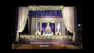 INDIAN WEDDING DECORATION, 9888257857 BEST WEDDING PLANNERS AND THEME FLOWERS DECOR IN CHANDIGARH.