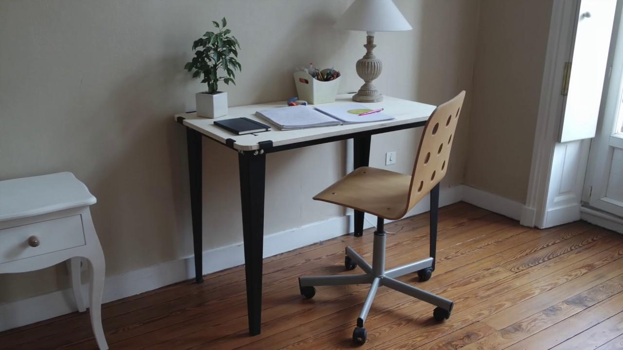 Pieds HYDLE - Fabriquer soi-même son bureau ou sa table