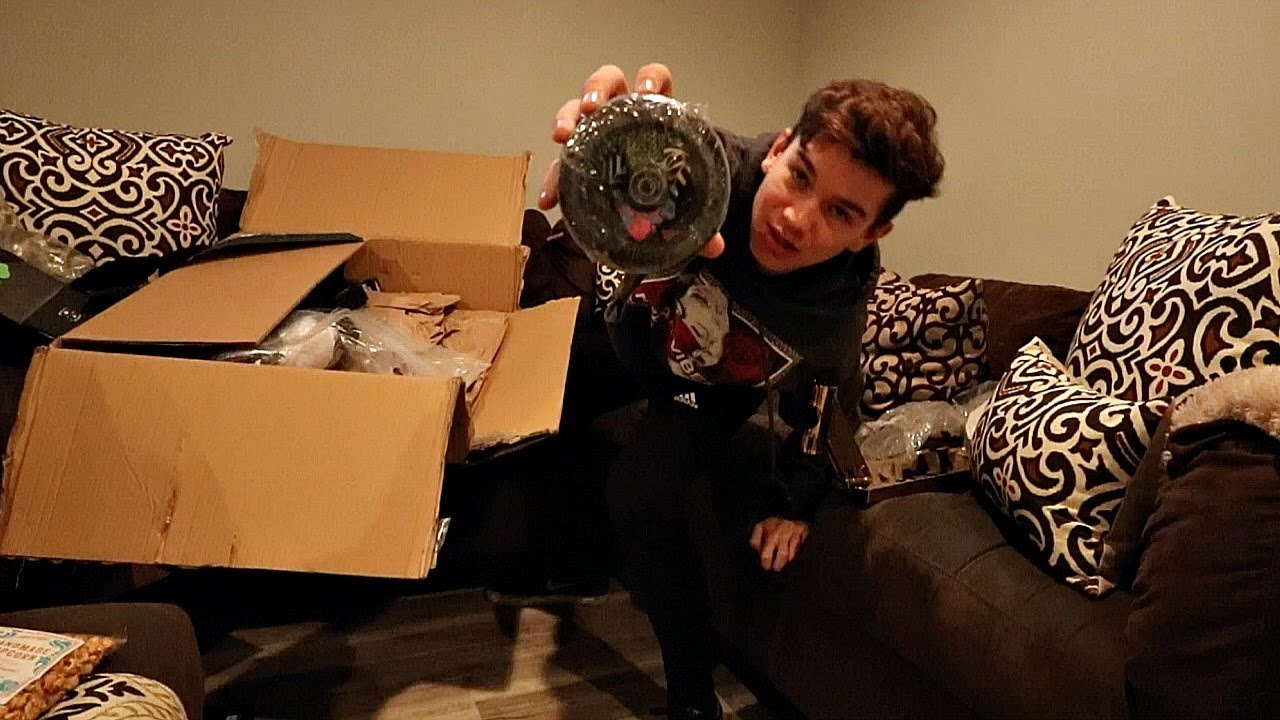 Jonmarco Gaydos Lucky Scooters Unboxing Youtube