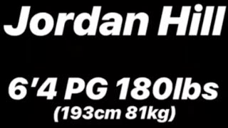 Jordan Hill 6'4 PG 180lbs Etha Engomis Full Highlight Film (Engomi, Cyprus)