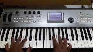VADACHENNAI Goindhammavaala song | keyboard tutorial | part 1 | DHANUSH | RAJ BHARATH |