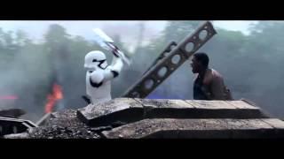 Star Wars The Force Awakens: Finn vs TR-8R Full Scene 1080p