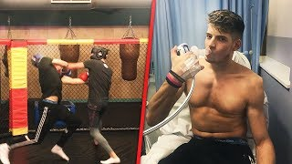 (Don't Click if P***y) LIVE DISLOCATING SHOULDER IN A YOUTUBER BOXING MATCH