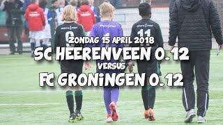 4 GOALS! sc Heerenveen o.12 - FC Groningen o.12   vriendschappelijk   SONY FDR-AXP33
