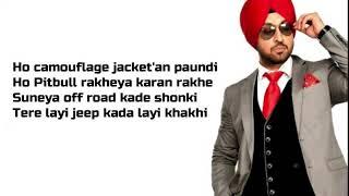 TOMMY - SHADAA | lyric video| Diljit Dosanjh | Sonam Bajwa | Raj Ranjodh