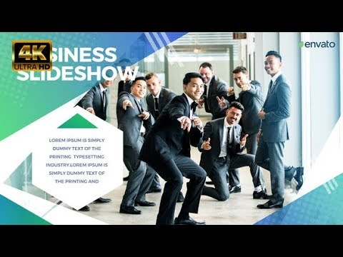 Business Slideshow - After Effects template - 동영상
