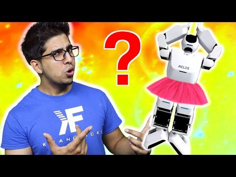 A Robot Ballerina? | Unboxing & Lets Play AELOS 1S