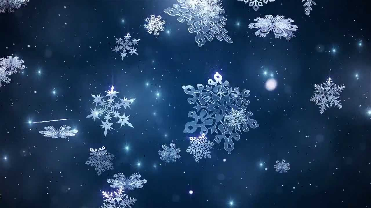Real Snowflakes Falling Wallpaper Tutorial Preview Create An Animated Holiday Themed