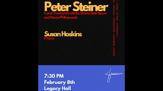 Live:  Peter Steiner, trombone; Susan Hoskins, piano from Legacy Hall at Columbus State University