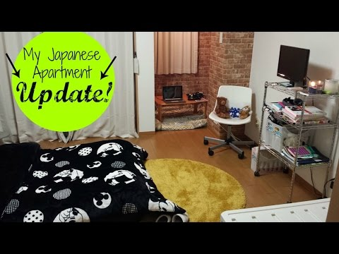 My Japanese Apartment Tour: UPDATE!!!