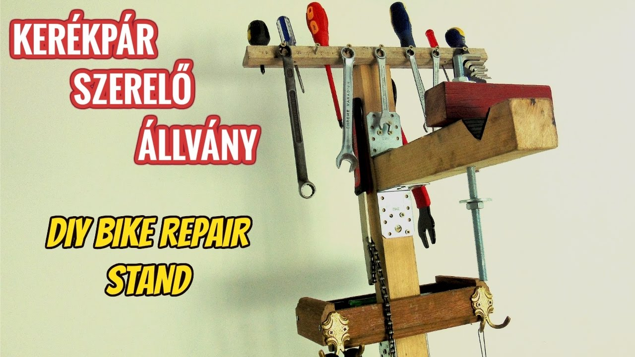 Homemade Bicycle Stand Diy Bicycle Repair Stand