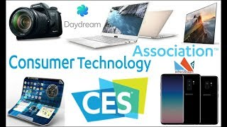 CES 2018 Tech Show - Samsung X Foldable phone, Galaxy S9, Dell Xps