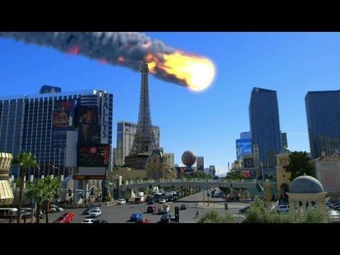 Forecasting The End: An Asteroid Could Destroy Las Vegas