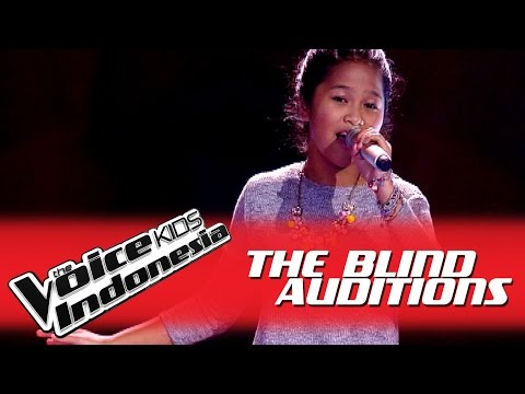 """Morie """"Valerie"""" I The Blind Auditions I The Voice Kids Indonesia GlobalTV 2016"""