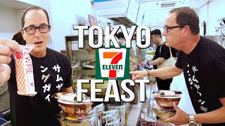 Japanese Convenience Store Food Tour | SAM THE COOKING GUY 4K