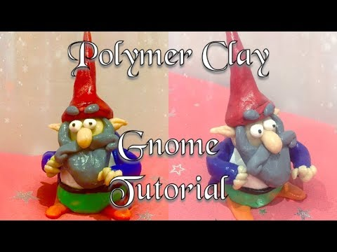 How to Create a Gnome out of Polymer Clay - Sculpting Mythical Creatures