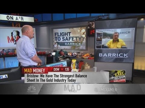 Barrick Gold CEO: Mining industry needs to 'grow up and be more modern'