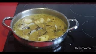 Cómo hacer rape en salsa verde con almejas | facilisimo.com
