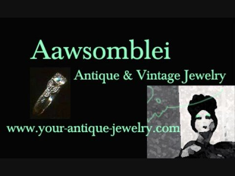 Antique Jewelry, Vintage Jewelry, Antique Wedding Ring
