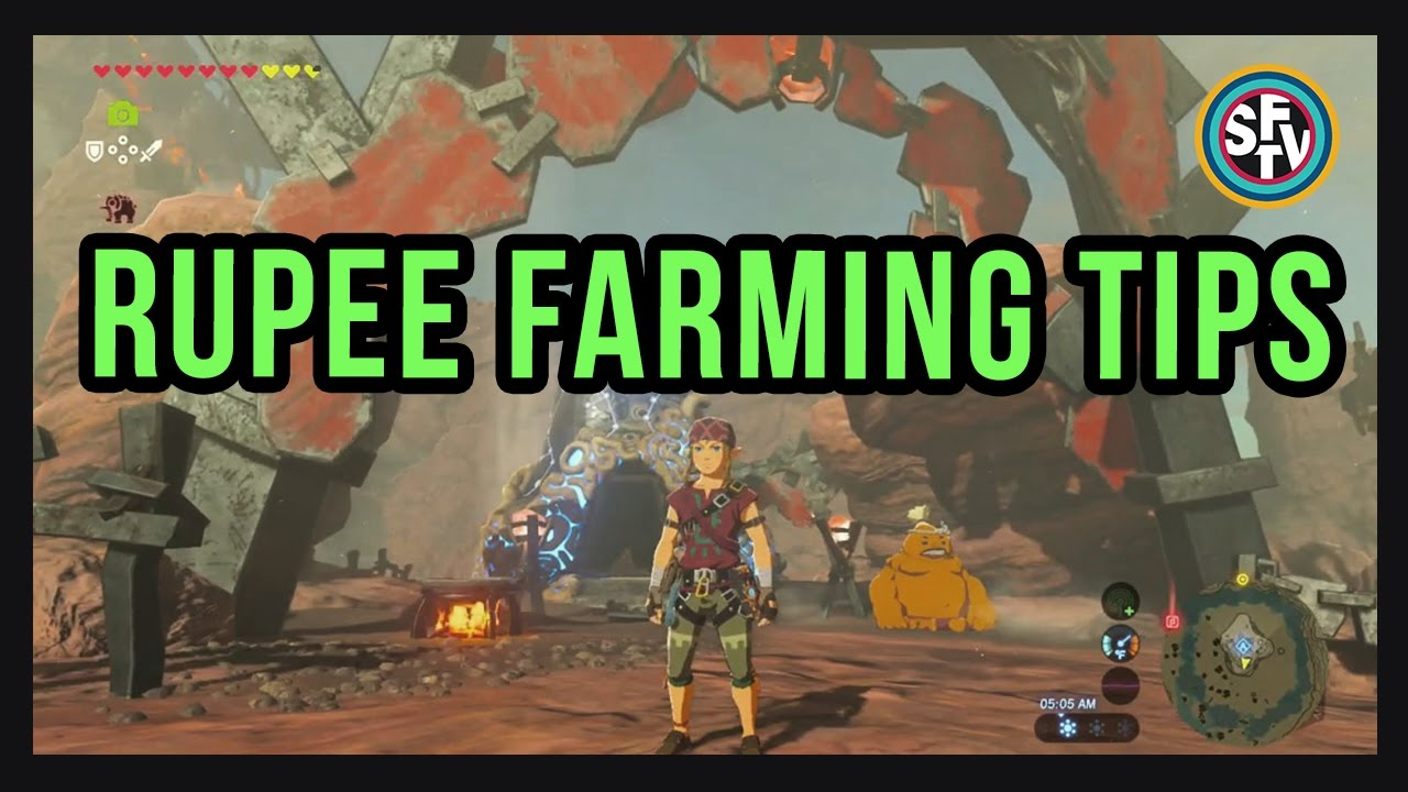 how to get to goron city botw without burning