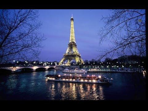Paris ★ Walking along the Seine river {2017)★ Прогулка по реке Сена в Париже
