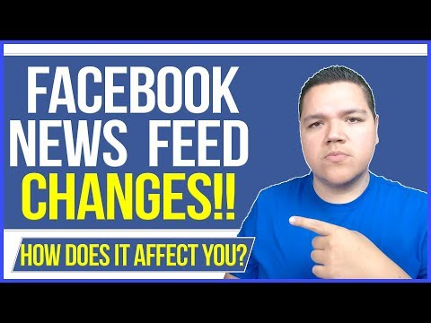 FACEBOOK ALGORITHM CHANGES! - 2018 - NEWS FEED UPDATES THAT YOU NEED TO KNOW! - ZEPEDA MEDIA