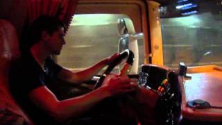 V8 sound Scania R580