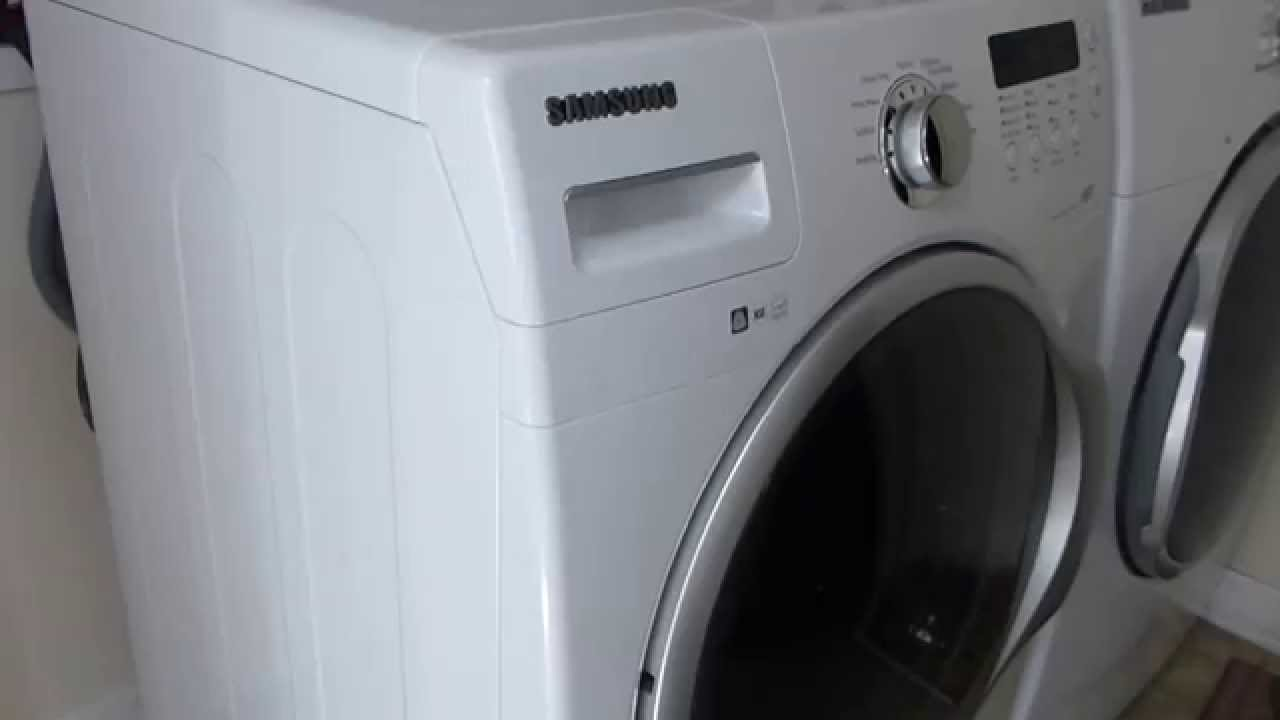 Samsung Wf330anw Xaa Vrt Front Load Washer Noise Youtube