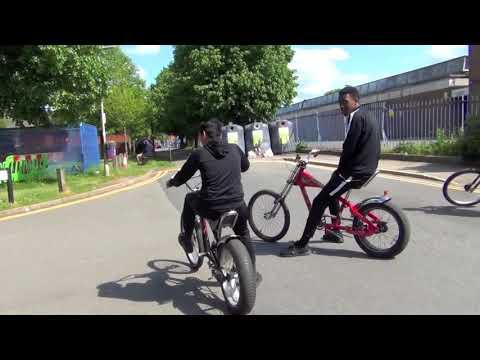 The Dee Park Champions Four Park Ride The Real Diamondz Bike Crew