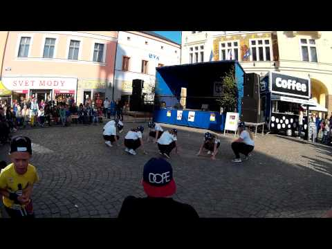 Náchodské májování 2015 - street dance show
