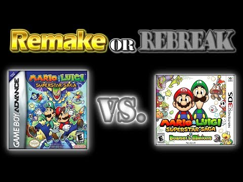 ROR: Mario & Luigi Superstar Saga (GBA Vs. 3DS)